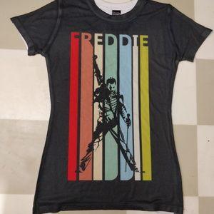 Freddie Mercury Bohemian Rhapsody  Rainbow Shirt
